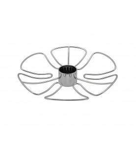 Полка для бокалов круглая центральная стальная Тип-2
