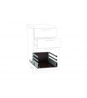 Ящик высокий POWER BOX2 с 2-м рейлингом