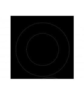 Электрическая варочная поверхность EVH 641 BL