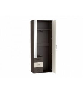Шкаф платяной двухстворчатый Рошель ШК-802 с ящиками
